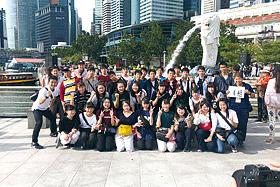 修学旅行訪問地:シンガポール・マレーシア
