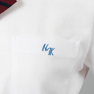 ロゴ刺繍入りポケット