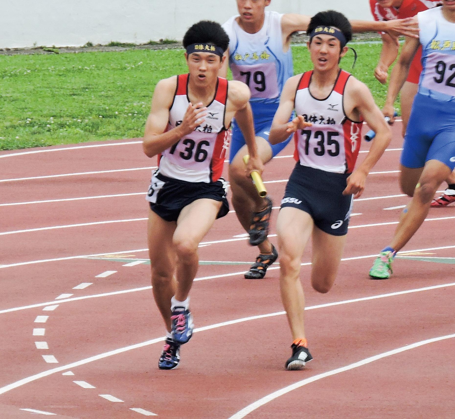 陸上競技部   日本体育大学柏高等学校