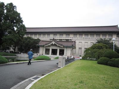 東京国立博物館(21.10)