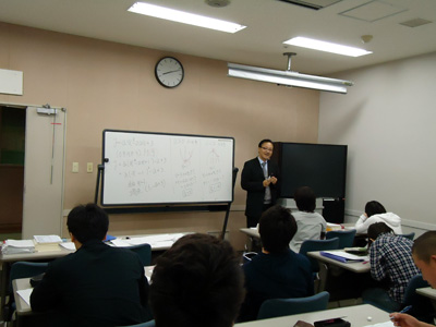 大学入試問題の演習。