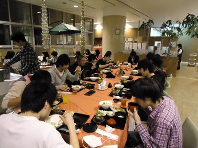 楽しみな食事の時間