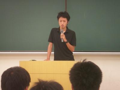 卒業生松尾さん