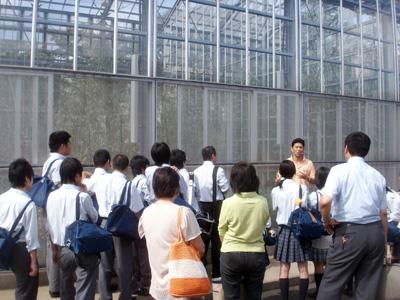 筑波大見学 遺伝子実験センター(21.8)