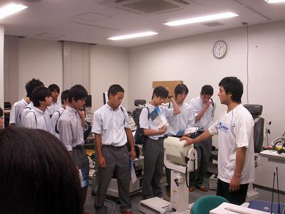 筑波大見学 体育センター2(21.8)