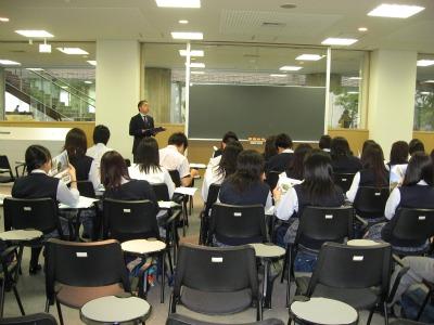 城西国際大学見学1