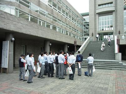 早稲田大学見学2