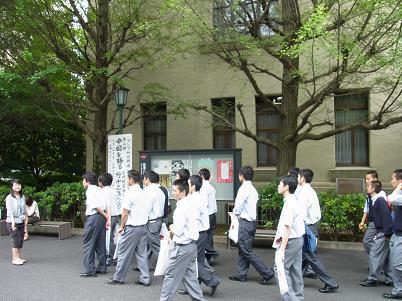 早稲田大学見学3