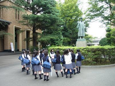 早稲田大学見学9