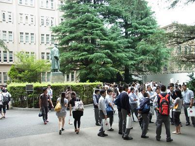 早稲田大学見学10