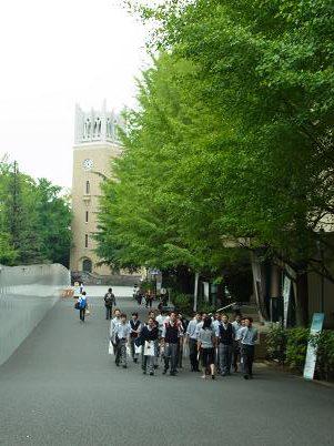 早稲田大学見学12
