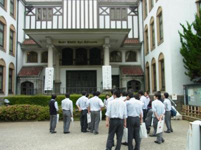 早稲田大学見学13