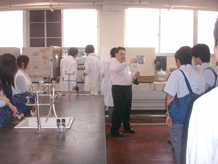 日本大学生産工学部見学3