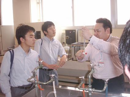 日本大学生産工学部見学4