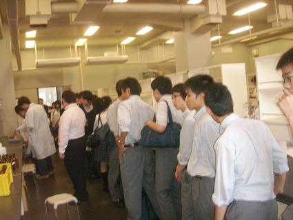 日本大学生産工学部見学5